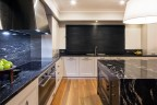 Design – Pesche Interiors, Main Street Mornington</br>Photo courtesy of AKL Designer Kitchens
